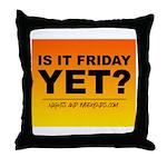 N&W.com Friday Throw Pillow