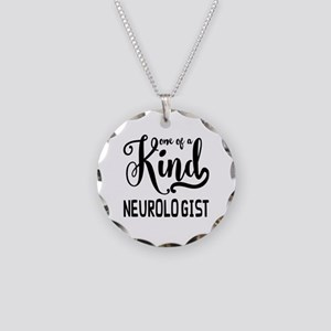 One of a Kind Neurologist Necklace Circle Charm