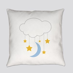Cloud Mobile Everyday Pillow