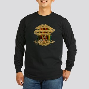 Veterans T-shirt - I come from Long Sleeve T-Shirt