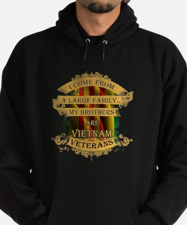 Veterans T-shirt - I come from a lar Hoodie (dark)