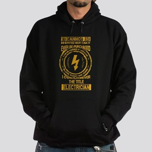 Electrician T-shirt - It cannot be i Hoodie (dark)