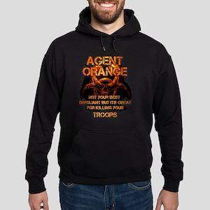 Agent Orange T-shirt - Agent Orange Hoodie (dark)