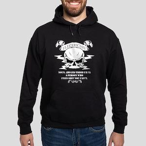 Electrician T-shirt - Electrician No Hoodie (dark)