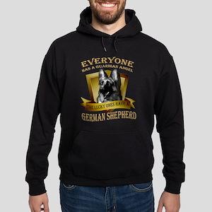 German Shepherd T-shirt - Everyone h Hoodie (dark)