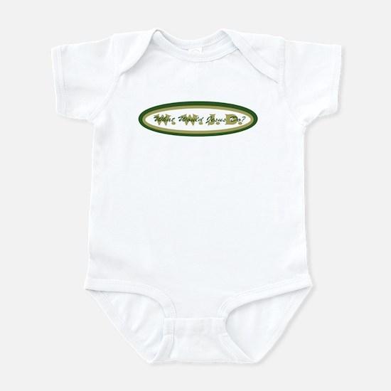 Camouflage WWJD Infant Bodysuit