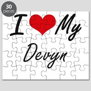 I Love My Devyn Puzzle