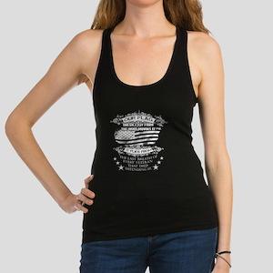 Veterans T-shirt - Our flag doe Racerback Tank Top