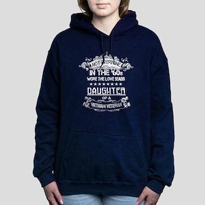 Daughter of a Veteran T- Women's Hooded Sweatshirt