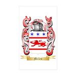 Millen Sticker (Rectangle 50 pk)