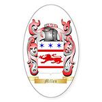 Millen Sticker (Oval 10 pk)