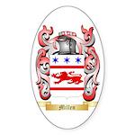 Millen Sticker (Oval 50 pk)