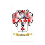 Millea Sticker (Rectangle 50 pk)