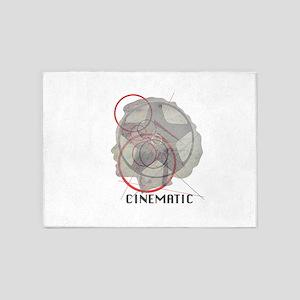 Cinematic 5'x7'Area Rug
