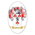 Millea Sticker (Oval 50 pk)