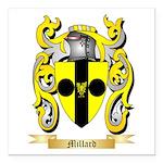 Millard Square Car Magnet 3
