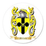 Millard Round Car Magnet