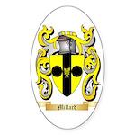Millard Sticker (Oval 50 pk)