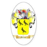 Millan Sticker (Oval 50 pk)