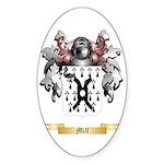 Mill (Ireland) Sticker (Oval 10 pk)