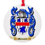 Milinaire Round Ornament