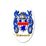 Milinaire 35x21 Oval Wall Decal