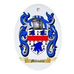 Milinaire Oval Ornament