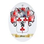 Miley Oval Ornament