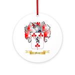 Miley Round Ornament