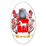 Miles Sticker (Oval 50 pk)