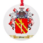 Miles (Ireland) Round Ornament