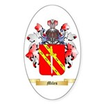 Miles (Ireland) Sticker (Oval 10 pk)