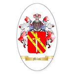 Miles (Ireland) Sticker (Oval 50 pk)