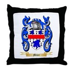 Miler Throw Pillow