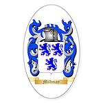 Mildmay Sticker (Oval 50 pk)