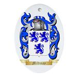 Mildmay Oval Ornament