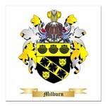 Milburn Square Car Magnet 3