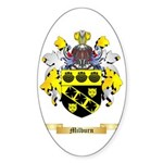 Milburn Sticker (Oval)