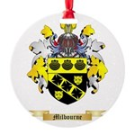 Milbourne Round Ornament