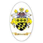 Milbourne Sticker (Oval 50 pk)