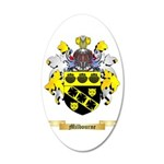 Milbourne 35x21 Oval Wall Decal