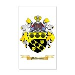 Milbourne 35x21 Wall Decal