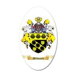 Milbourn 20x12 Oval Wall Decal