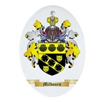 Milbourn Oval Ornament