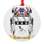 Mikulski Round Ornament