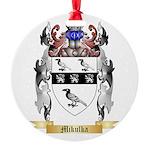 Mikulka Round Ornament