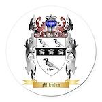 Mikulka Round Car Magnet