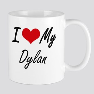 I Love My Dylan Mugs