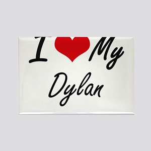 I Love My Dylan Magnets