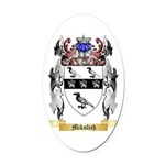 Mikulich Oval Car Magnet
